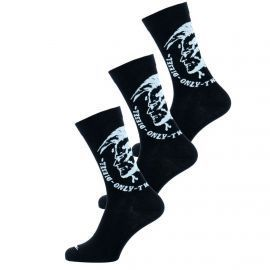 pack 3 chaussettes diesel noires