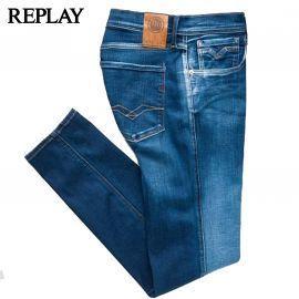 Jean de la marque REPLAY bleu