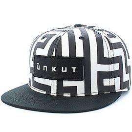 Casquette Block UNKUT noir et blanc