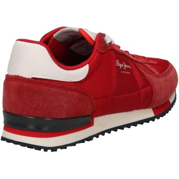 baskets tinker pepe jeans rouge homme. Black Bedroom Furniture Sets. Home Design Ideas