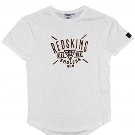Redskins - Tee shirt à texte - Overmax - Blanc - Junior