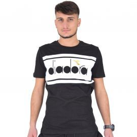 Tee shirt DIADORA noir et blanc 502173796