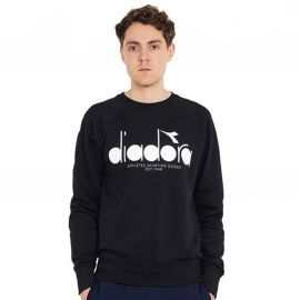 Sweat Crewneck noir DIADORA