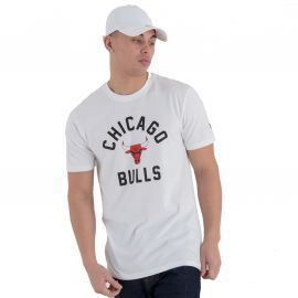 Tee-shirt homme CHICAGO BULLS blanc NEW ERA