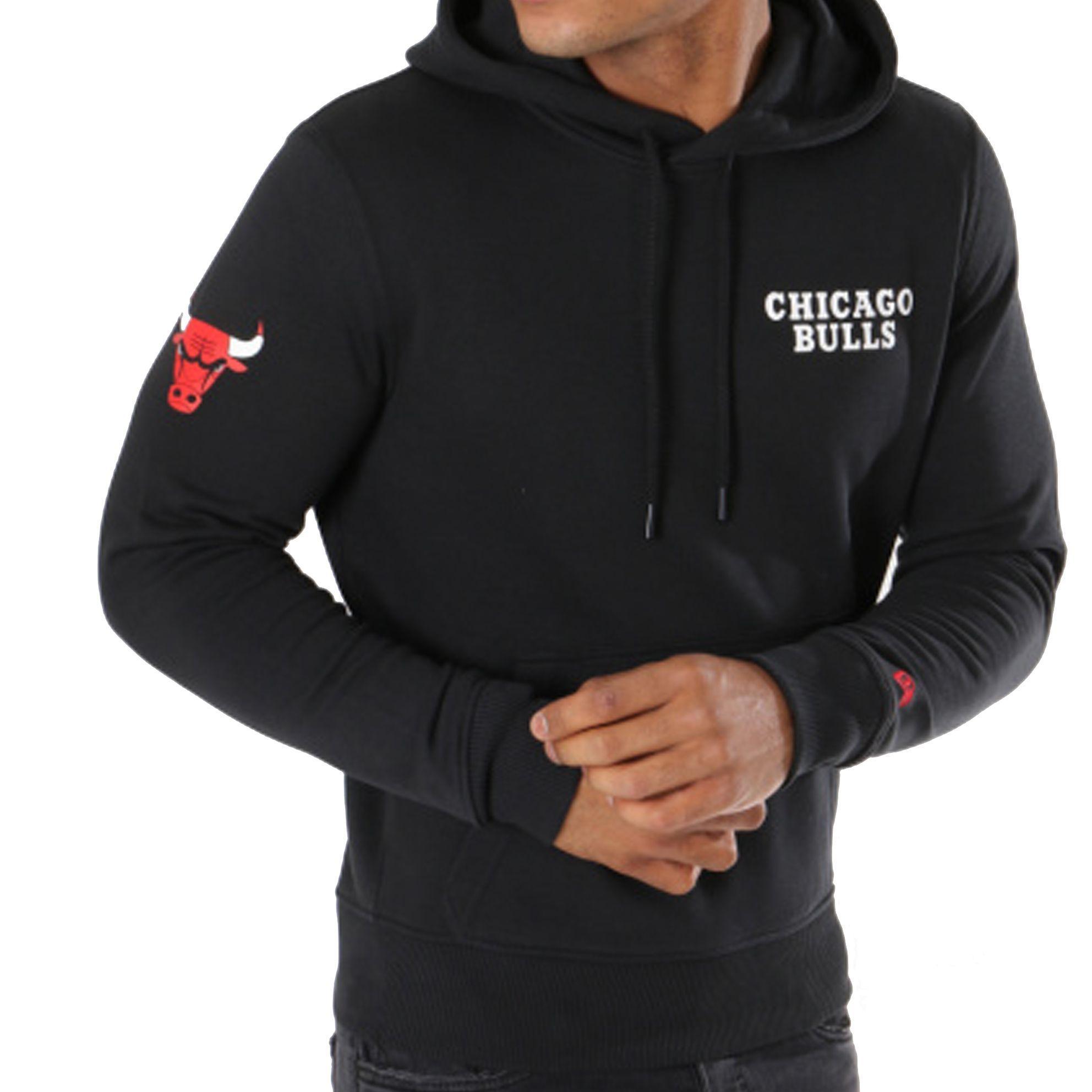Chicago Noir Sweat Nouveaux Zipé Bulls rxtdohQBsC