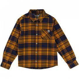 Chemise junior à carreaux twill coton T25N22 TIMBERLAND