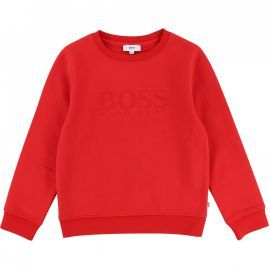 SWEAT J J25C92 ROUGE BOSS