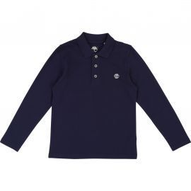 Polo junior TIMBERLAND bleu T25n17