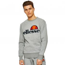 Sweat homme ELLESSE col rond gris