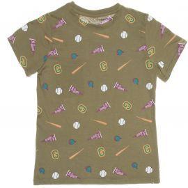 Tee-shirt junior GUESS L74L08 kaki
