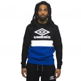 SWEAT H 687680-60 NOIR/ROYAL