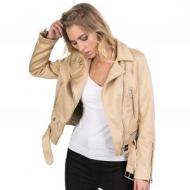 Veste Perfecto beige W3183 SIXTH JUNE