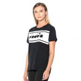 Tee shirt femme diadora ref:502.173913 noire