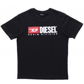 Tee-shirt junior DIESEL K90 TJUSTDIVISION noir