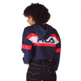 SWEAT F 687079 BLEU BLANC ROUG
