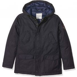 Parka junior bleu marine parko teddy smith