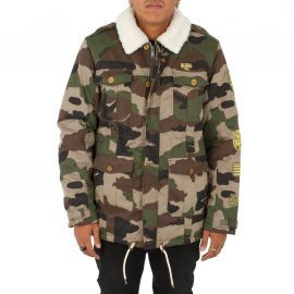 Veste homme TWO ANGLE camouflage SAFAR ILLEGAL