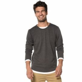 PULL H MOHANSON GRIS