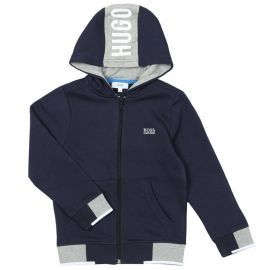 Sweat Hugo Boss J25d23 bleu marine.