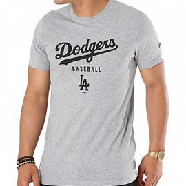 Tee shirt homme Los angeles Dodgers New Era gris