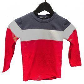 Tee shirt tricolore bleu blanc rouge P-60