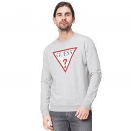 SWEAT GUESS HOMME M82Q06 GRIS