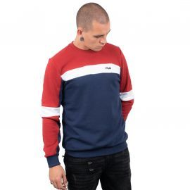 SWEAT H 687165 BLEU/BLANC/ROUG