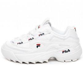 Basket FILA Femme D-formation blanche