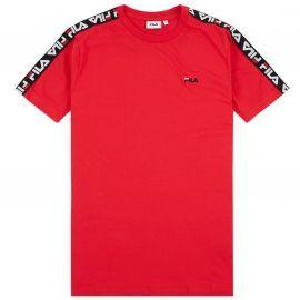 Tee shirt fila Rouge à bande