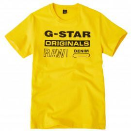 Tee shirt G-STAR junior jaune