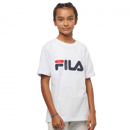grande vente de liquidation bonne qualité original de premier ordre tee shirt fila Blanc junior