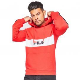 SWEAT FILA HOMME 687033 CAPUCHE ROUGE