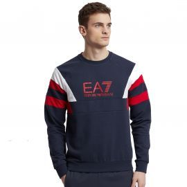 PULL H 3GPM40 BLEU/ROUGE ARMAN