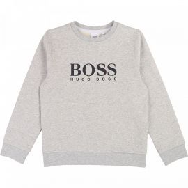 SWEAT J J25E17 GRIS BOSS