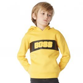 SWEAT J J25E21 JAUNE BOSS