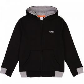 SWEAT J J25E53 NOIR BOSS