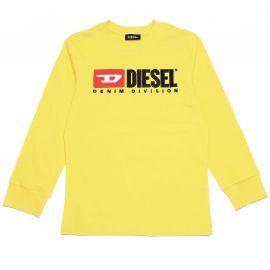 Tee shirt DIesel jaune manche longue
