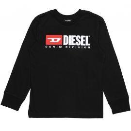 Tee shirt DIESEL TJUSTDIVISION noir