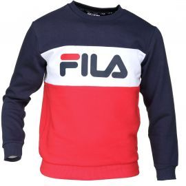 Sweat junior fila tricolor col rond