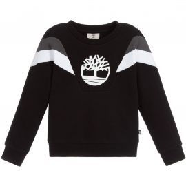Sweat junior TImberland col rond rétro