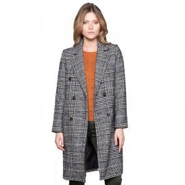 Manteau long à carreaux CLaudia DEELUXE