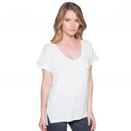 Tee shirt Femme Deeluxe Amy blanc