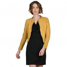 VESTE F HA013A19 JAUNE MOLLY