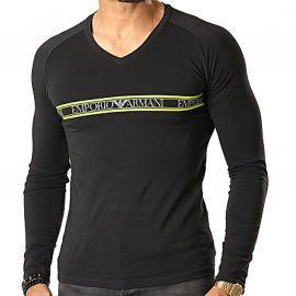 Tee-shirt homme ARMANI noir/vert 111742