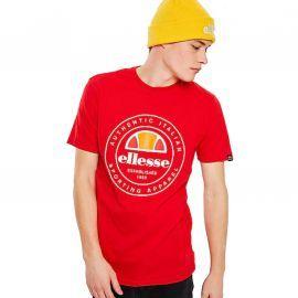 Tee shirt homme ELLESSE VETTORIO SHC05901 rouge