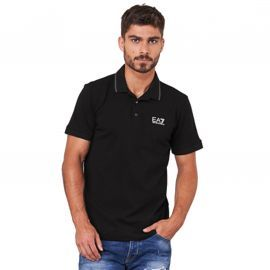 Polo Armani noir 8NPF06
