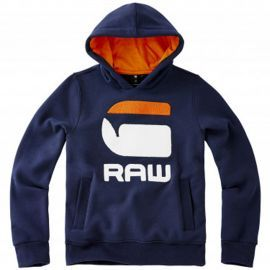 SWEAT J SP15076 BLEU ORANGE
