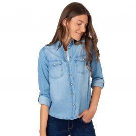 Chemise en jean Femme bleu clairTIFFOSI