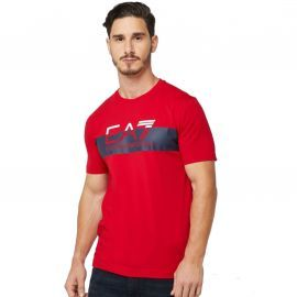 Tee shirt ARmani EA7 rouge 3GPT69