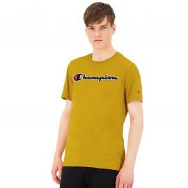 Tee shirt CHAMPION moutarde bouclette